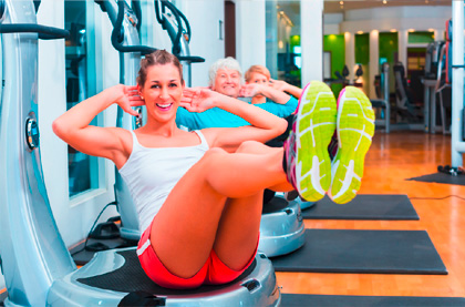 Power Plate - body for life Beauty & Fitness Lounge in Poing München